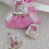 sacchetti con campanella rosa