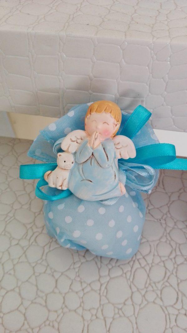 magneti angeli cielo con sacchetto